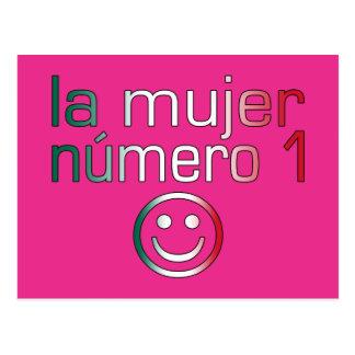 La Mujer Número 1 - esposa do número 1 no mexicano Cartão Postal