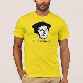 La Reformación - Martin Luther de Viva (luz) Camiseta