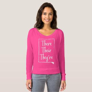 Lá seu são - camisa cor-de-rosa das palavras dos