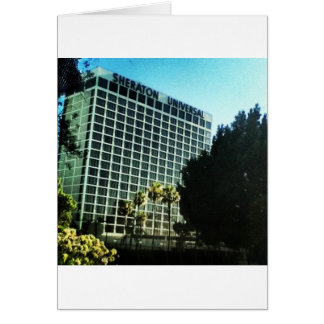 LA universal dos estúdios do hotel do sheraton Cartão Comemorativo