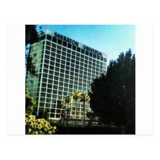 LA universal dos estúdios do hotel do sheraton Cartão Postal