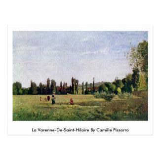 La Varenne-De-Santo-Hilário por Camille Pissarro Cartões Postais