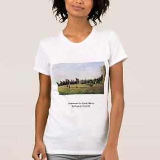 La Varenne-De-Santo-Hilário por Pissarro Camilo Tshirts