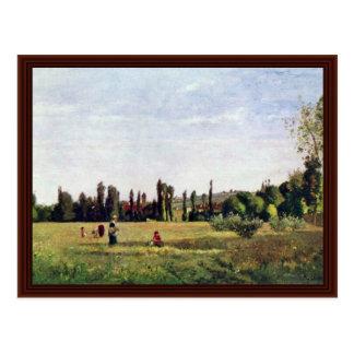 La Varenne-De-Santo-Hilário por Pissarro Camilo Cartao Postal