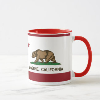 La Verne da bandeira do estado de Califórnia
