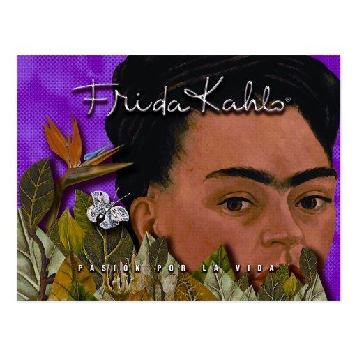 La Vida 2 de Frida Kahlo Pasion Por Cartao Postal
