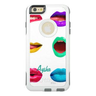 Lábios coloridos personalizados