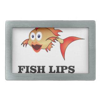lábios dos peixes