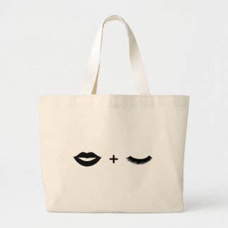 Lábios + Gráfico do bolsa dos chicotes