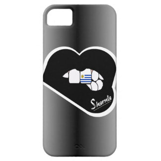 Lábios móveis do preto da capa de telefone de
