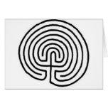 Labirinto Cartão