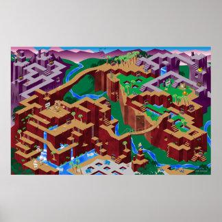 Labirinto de Congo Posters