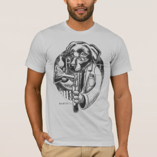 Laboratório químico (rador) camiseta