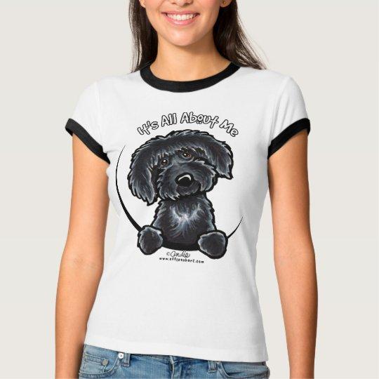 Labradodle preto IAAM Camiseta
