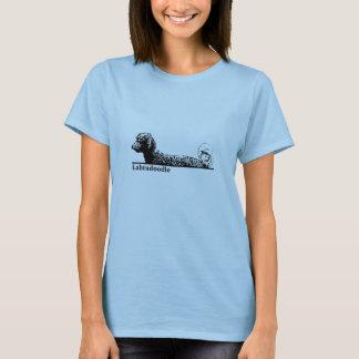 Labradoodle elegante camiseta