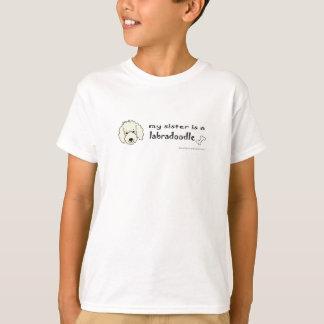 LabradoodleYellowSister Camiseta