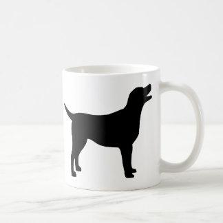 Labrador retriever (no preto) canecas
