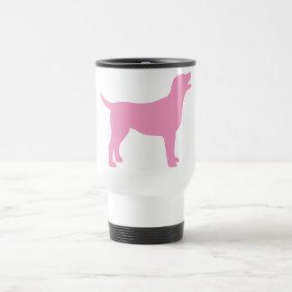 Labrador retriever (no rosa) caneca térmica