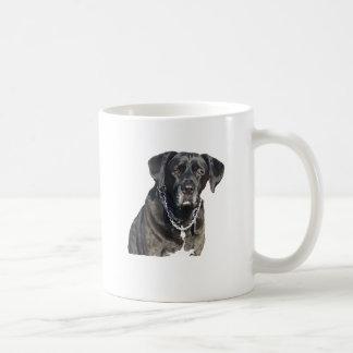 Labrador retriever preto canecas