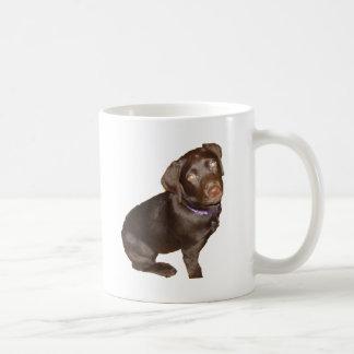 Labrador retriever preto caneca