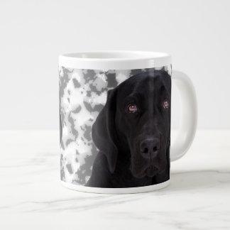 Labrador retriever preto jumbo mug