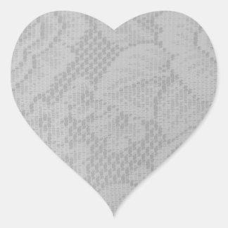 Laço Adesivo Coração