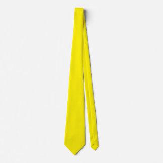 Laço amarelo dourado gravata