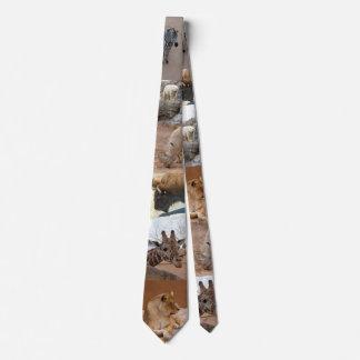 laço animal do jardim zoológico gravata