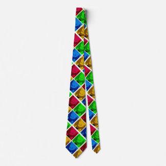 laço bonito dos desenhos animados para pais gravata