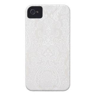 Laço branco capinha iPhone 4