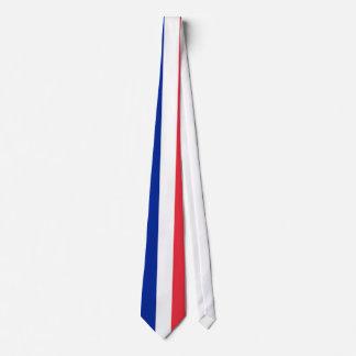 Laço com a bandeira de France Gravata