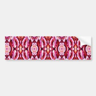 laço cor-de-rosa feminino adesivo para carro