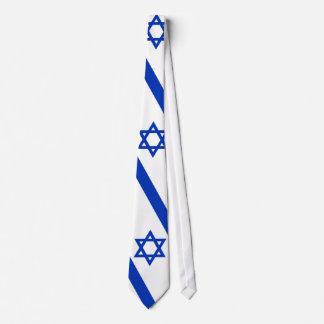 Laço da bandeira de Israel Gravata