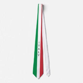 Laço da bandeira de Italia Gravata