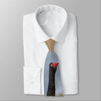 Laço da cisne preta gravata
