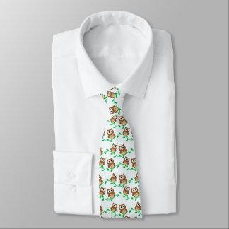 Laço das corujas pequenas gravata