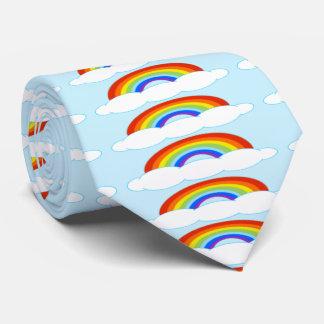 Laço do arco-íris gravata