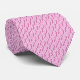 Laço do cancro da mama gravata
