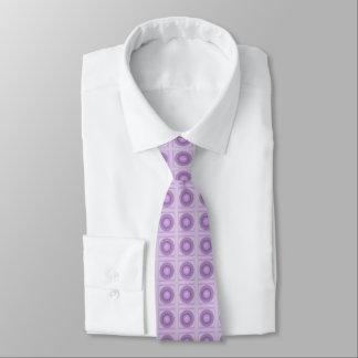 Laço do design do Lilac & do ponto/ponto Gravata
