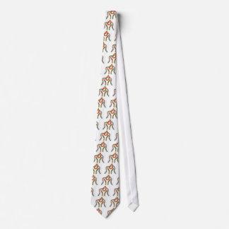 Laço do pescoço da gravata da luta