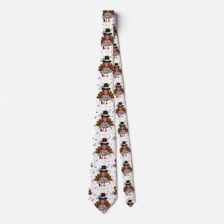 laço do pescoço da gravata dos homens do peru do