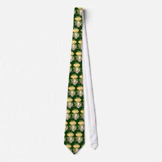 Laço do professor do sapo dos desenhos animados gravata