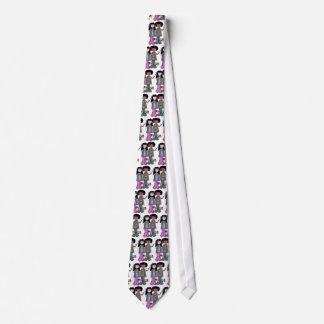 Laço dos anos sessenta das crianças de flor do gravata