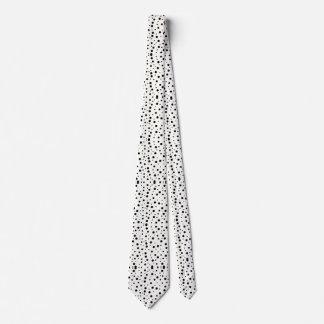 Laço dos pontos pretos gravata