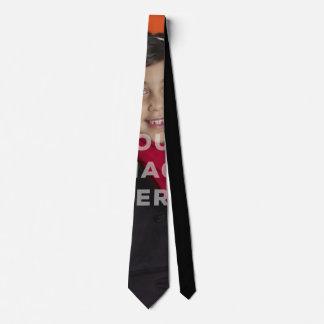 Laço engraçado coberto solteiro do pescoço da foto gravata