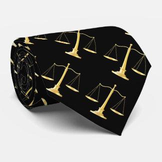 Laço executivo do tema elegante do advogado gravata