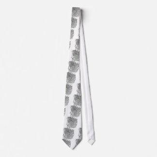 Laço gótico da aranha de vidro gravata