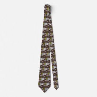 Laço para fora condenado do ponto gravata