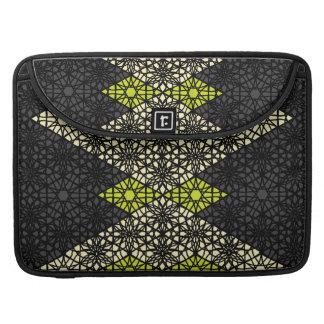 Laço preto a bolsa de laptop modelada bolsas para MacBook pro