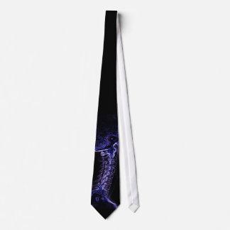 Laço roxo/azul da C-espinha (imagem da versão 2 -  Gravata
